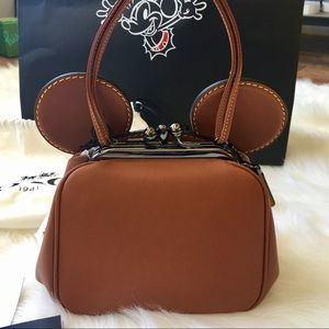 Coach Bags - NWT Disney x Coach Mickey Ears Kisslock purse